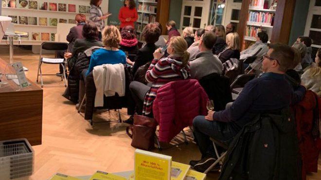 """ELTVILLE, 31.01.2019: Buchvorstellung """"Stress..."""" fand großes Interesse"""