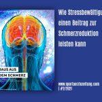 RAUS AUS DEM SCHMERZ - wie Stressbewältigung einen Beitrag zur Schmerzreduktion leisten kann. Artikel der Sportärztezeitung
