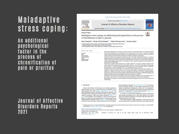 Maladaptive stress coping: An additional psychological factor in the process of chronification of pain or pruritus 09/2021